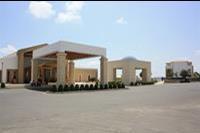 Hotel Mitsis Blue Domes Exclusive Resort & Spa -  podjazd do Mitsis Blue Domes