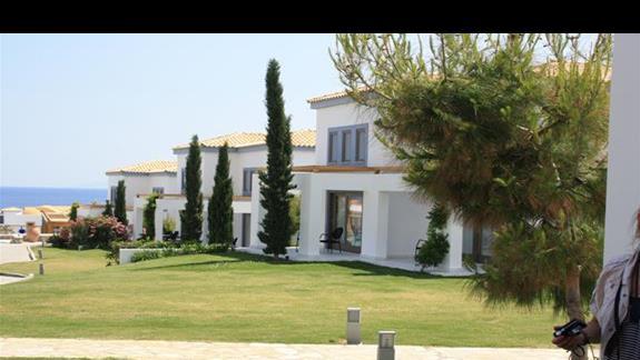 budynek dl apokoi rodzinnych Mitsis Blue Domes