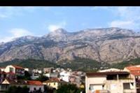 Makarska - Makarska - góry i domki