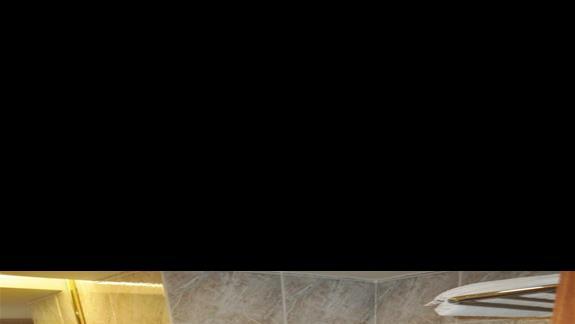 Łazienka w hotelu Oceanis