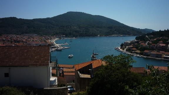 Widok miasteczka Vela Luka