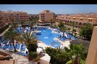 Hotel Dunas Mirador Maspalomas - A nasz hotel z góry:)