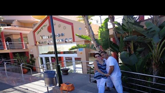 To my przed hotelem:)