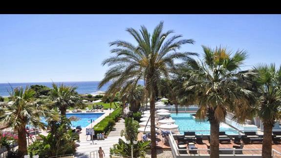 Basen w hotelu Blue Sea