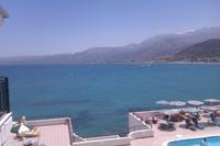 Hotel Horizon Beach - widok z tarasu
