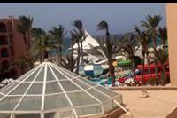 Hotel Marabout - Widok z naszego balkonu