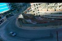 Hotel Residence President - widok z hotelu od frontu z ostatniego piętra