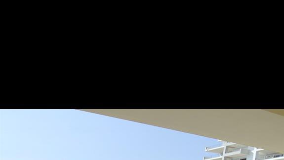widok boczny z hotelu