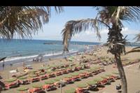 Hotel Dunas Don Gregory - widok z basenu na plaze