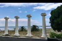 Platamonas - Koło plazy
