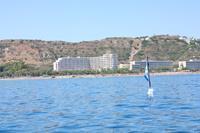 Hotel Pegasos Beach - hotel PEGASOS od strony morza