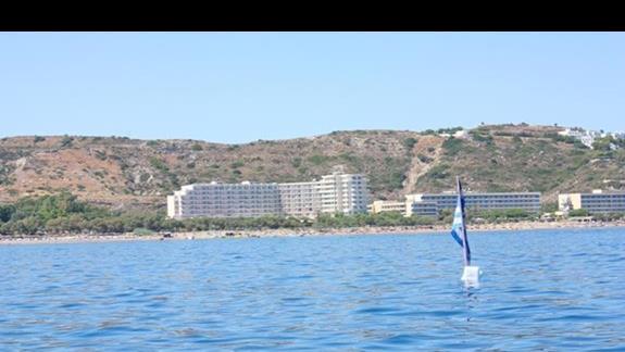 hotel PEGASOS od strony morza