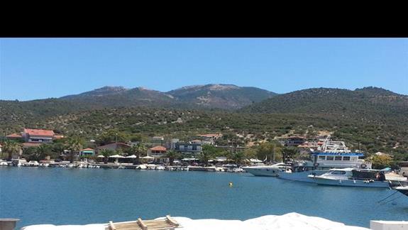 port w Skala Kallirachis