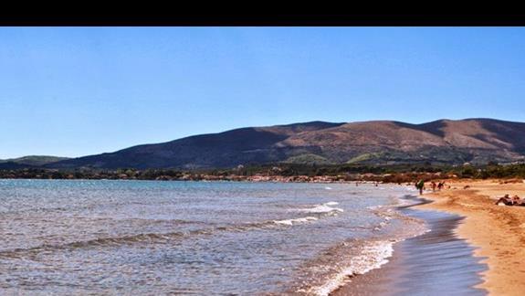 Plaża w okolicy hotelu