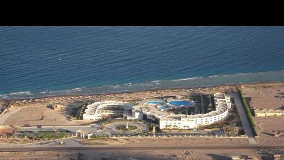 Hotel - widok z góry
