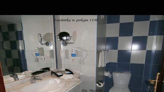 Lazienka w pokoju nr 1140