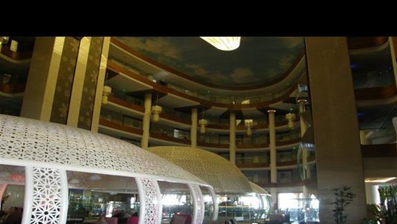 hall w hotelu Sentido Gold Island