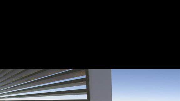 widok z balkonu w hotelu Sentido Gold Island
