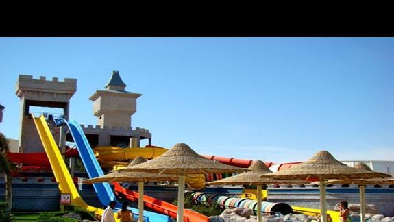 Aquapark - zjezdzalnie dla starszych dzieci i doroslych