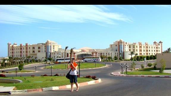 Wyglad hotelu (widok spod hotelu Serenity Fun City)
