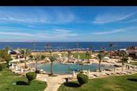 Hotel Otium Amphoras - glowna plaza, mniejsza otoczona skalami, snorkeling po prawej na dole.