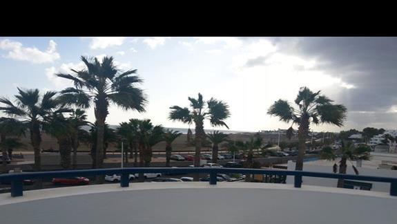 widok z jednego z balkonów