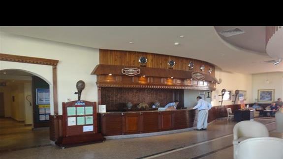 Recepcja w hotelu Aqua Vista