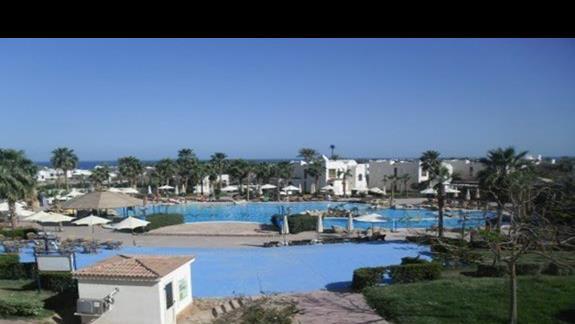 Część basenowa hotelu Shores Golden