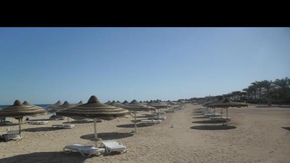 Plaża przy hotelu Baron Palm wspólna z Baron Resort