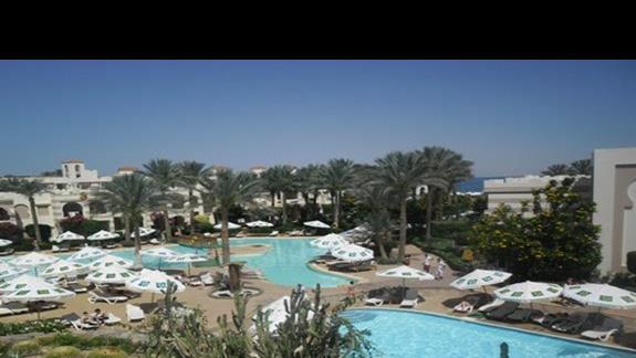 Teren hotelu Rehana Royal Beach