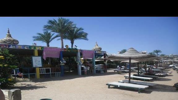 Plaża przy hotelu Rehana Royal Beach