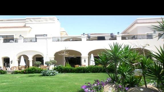 Ogród hotelu Jaz Mirabel Park
