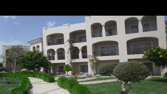 Teren hotelu Jaz Mirabel Park