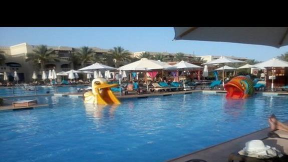 Mini zjeżdżalnie w hotelu Rixos