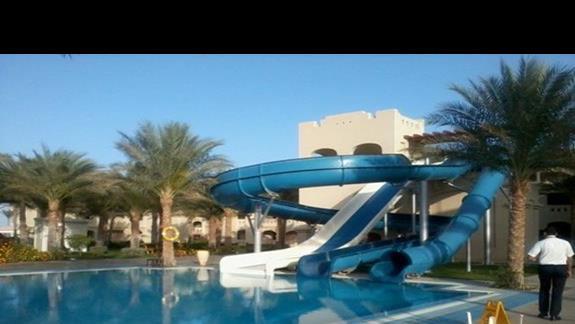 Aquapark dla starszych w Rixos
