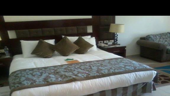 Pokój deluxe w hotelu Rixos