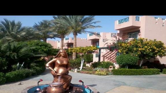 Teren hotelu Rehana Sharm