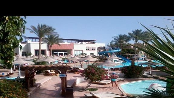 Rajski teren hotelu Rehana Sharm