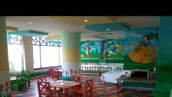 Mini restauracja dla dzieci w Rehana Sharm