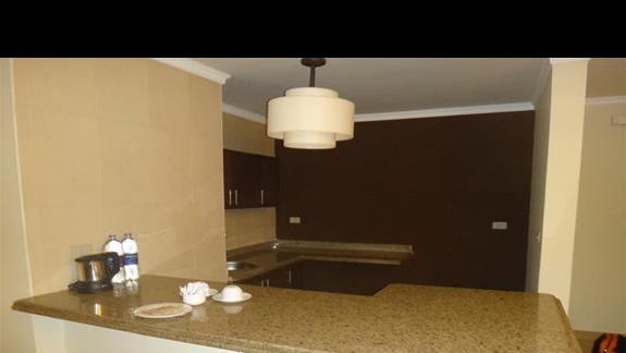 Aneks kuchenny w hotelu Oriental Bay