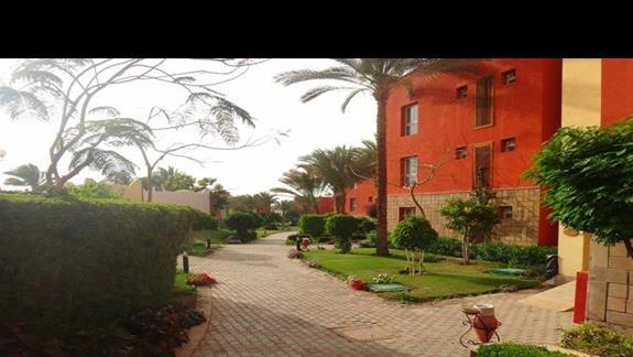 Budynki w hotelu Oriental Bay