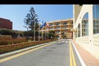 Hotel Paradise Bay Resort - widok sprzed hotelu