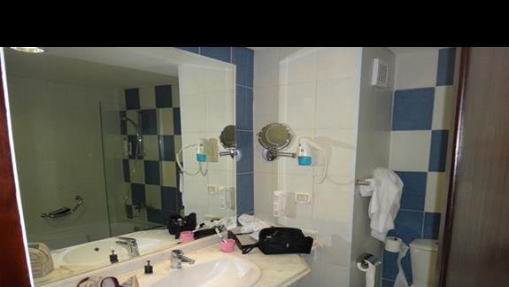 Lazienka w hotelu Amwaj Blue Beach Abu Soma Resort & SPA