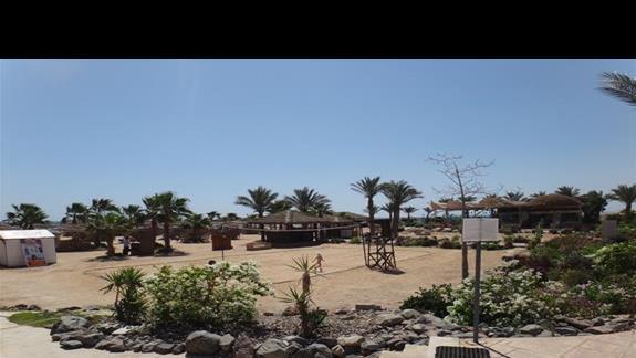 Boisko do siatkówki w hotelu Amwaj Blue Beach Abu Soma Resort & SPA