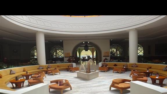 Lobby w hotelu Hilton Marsa Alam Nubian Resort