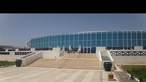 Budynek lobby i recepcji