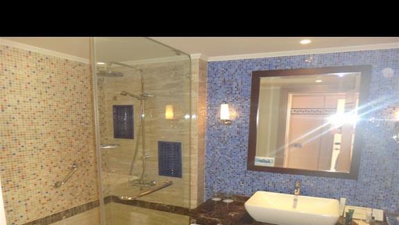 Lazienka w hotelu Hilton Marsa Alam Nubian Resort
