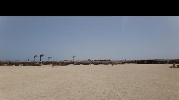 Plaza hotelu Hilton Marsa Alam Nubian Resort