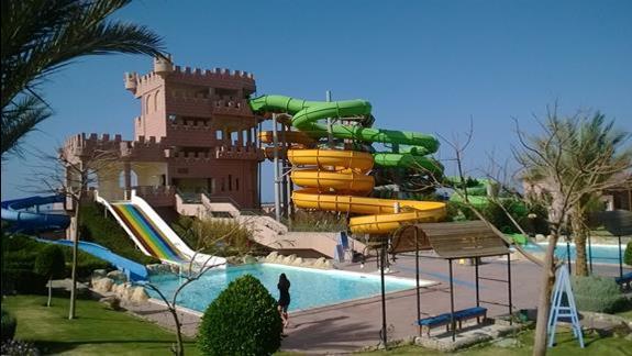 Zjezdzalnie w hotelu Calimera Club Akassia Swiss Resort