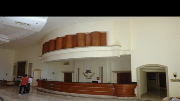 Recepcja w hotelu Coral Hills